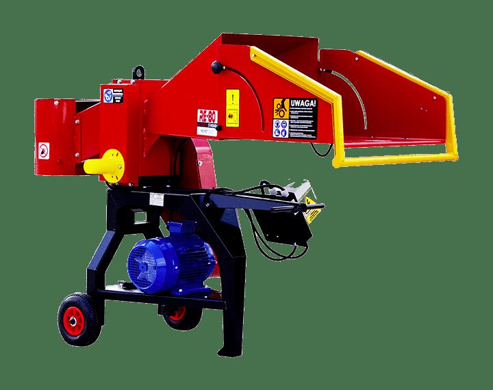 Cippatori per trattore, elettrici e a benzina Remet